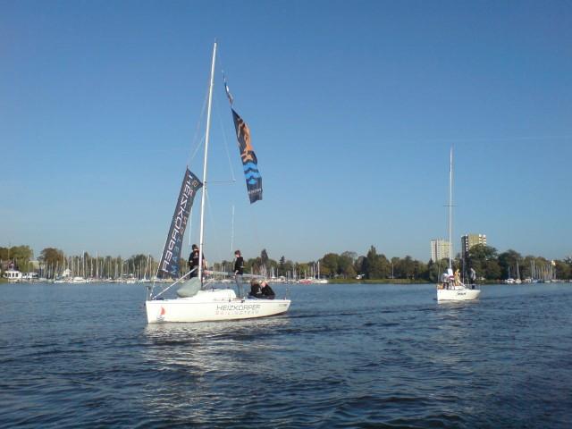 SA-Cup - Schlepp ins Startgebiet - Photocopyright: SailingAnarchy.de